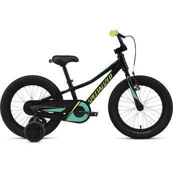 Specialized Riprock Coaster Brake 16 Int Gloss Tarmac Black/Emerald/Hyper Green