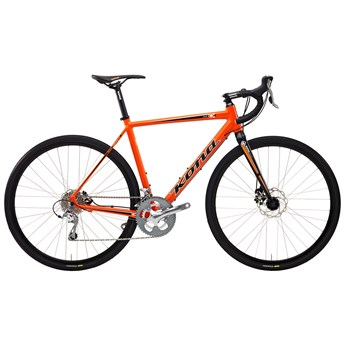 Kona Jake Matt Orange with Black and White