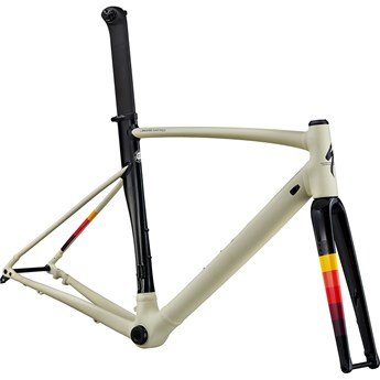 Specialized Allez Sprint Disc Frameset Satin/Gloss White Mountains/Tarmac Black