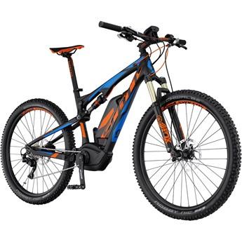 Scott E-Spark 710 Blå och Orange på Svart