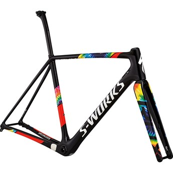 Specialized S-Works Crux Frameset Gloss SL Black/Cosmos/Rocket Red/White Hph Clear