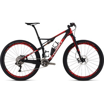 Specialized S-Works Epic 29 Satin Gloss Carbon/Flo Red/White