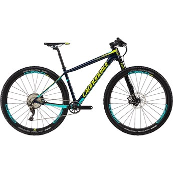 Cannondale F-Si Carbon 2 Midnight Blue with Neon Spring, Turquoise, Gloss