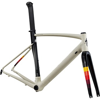 Specialized Allez Sprint Frameset Satin/Gloss White Mountains/Tarmac Black