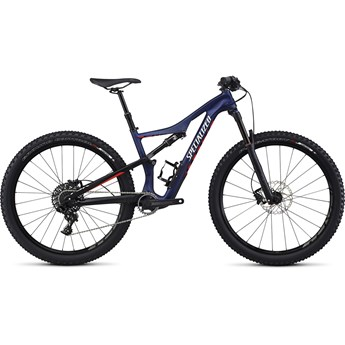 Specialized Camber Women's FSR Comp Carbon 650B Satin Nibali Blue/Nordic Red/Flake Silver
