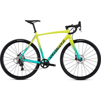 Specialized Crux E5 Sport Gloss Team Yellow/Acid Mint/Tarmac Black/Clean 2019
