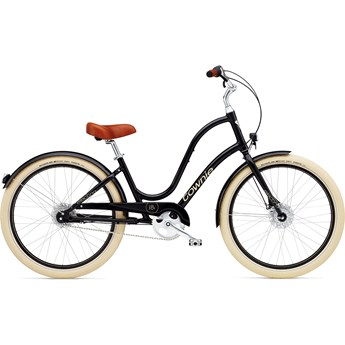 Electra Townie Balloon 8i EQ Ebony Damcykel 2016