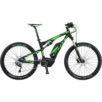Scott E-Spark 720 Grön på Svart