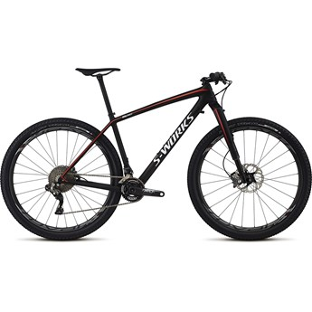 Specialized S-Works Epic Hardtail Carbon Di2 29 Satin Gloss Carbon/White/Rocket Red