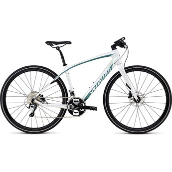 Specialized Vita Comp Carbon Disc Gloss Dirty White/Pearl Turquoise/Charcoal