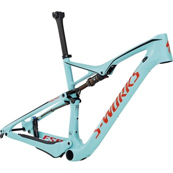 Specialized S-Works Epic FSR Carbon WC 29 Ram (Frame) Teal/Rocket Red/Black