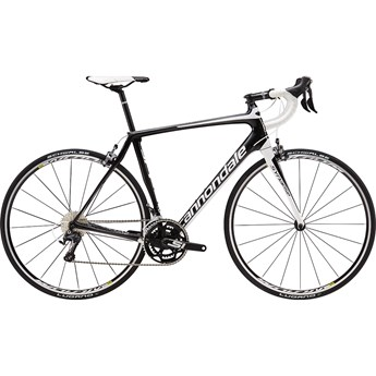 Cannondale Synapse Carbon Ultegra Jet Black with Magnesium White and Nearly Black, Matte