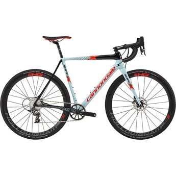 Cannondale SuperX Force 1 Atmosphere Blue with Jet Black and Acid Red, Gloss