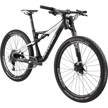 Cannondale Scalpel-Si Carbon Womens 1 Jet Black With Cashmere and Fine Silver, Satin