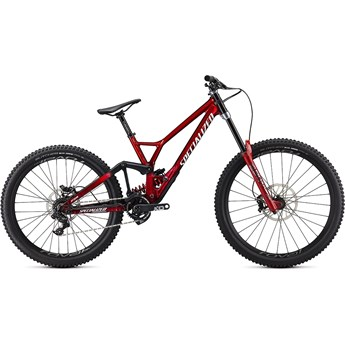 Specialized Demo Race Gloss Brushed/RedTint/White 2020