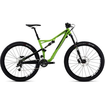Specialized Stumpjumper FSR Comp 650B Gloss Moto Green/Black Clean