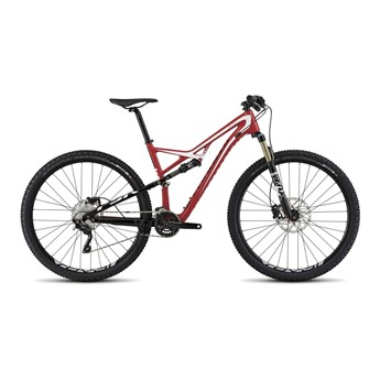 Specialized Camber FSR Comp Carbon 29 Red/White/Black