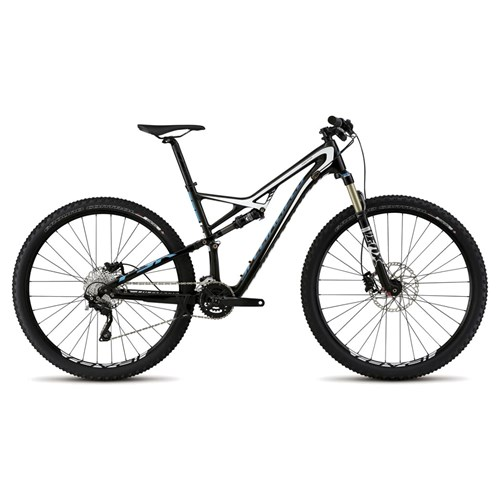 Specialized Camber FSR Comp Carbon 29 Carbon/White/Cyan 2015