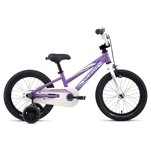 Specialized Hotrock 16 Coaster Girls Purple/Sparkle White 2016