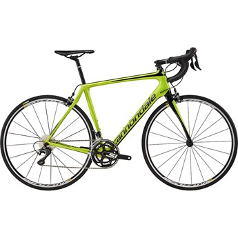 Cannondale Synapse Carbon Ultegra Acid Green with Jet Black and Charcoal Gray, Gloss
