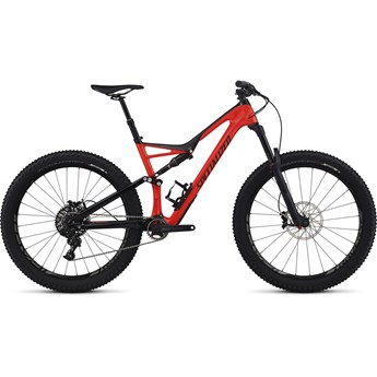 Specialized Stumpjumper FSR Expert Carbon 6Fattie Gloss Rocket Red/Black
