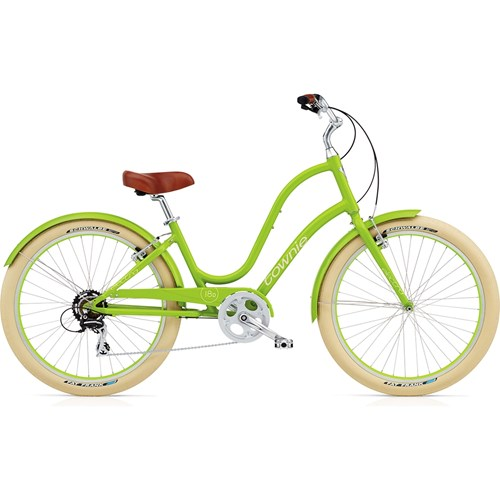 Electra Townie Balloon 8D Ladies' Lime 2015