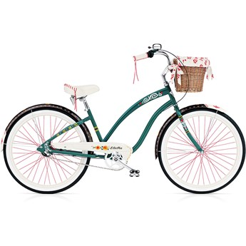 Electra Gypsy 3i Ladies Forest Green