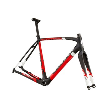 Specialized CruX Pro Carbon Frameset (Rampaket) Carbon/Red/White