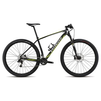 Specialized Stumpjumper Hardtail Comp 29 Black/White/Hyper Green