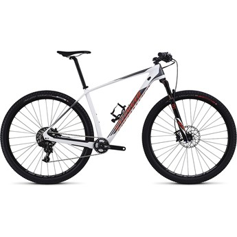 Specialized Stumpjumper HT Elite Carbon World Cup 29 Gloss White/Charcoal/Moto Orange