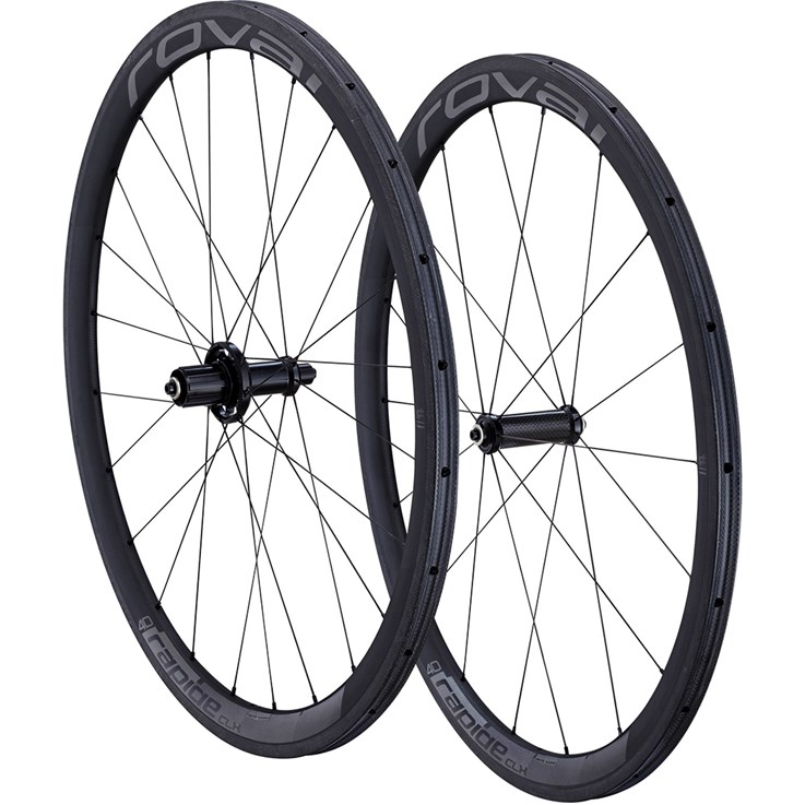 Specialized Rapide CLX 40 Wheelset Tubular Charcoal/Black