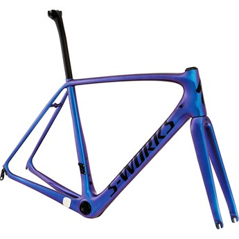 Specialized S-Works Tarmac Frameset Gloss Chameleon Purple/Satin Black/Clean