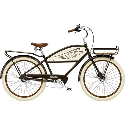 Electra Delivery 3i Brown Herrcykel 2016