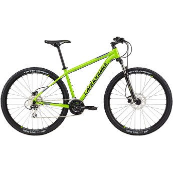 Cannondale Trail 6 Berzerker Green with Charcoal Gray and Jet Black, Gloss