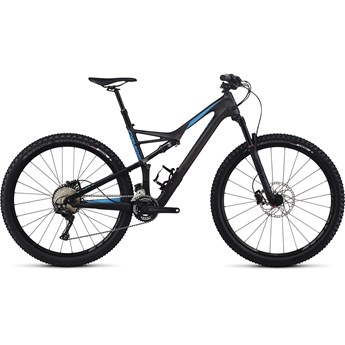 Specialized Camber FSR Comp Carbon 29 X2 Satin Carbon/Neon Blue 2017