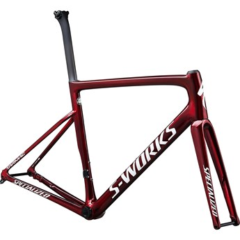 Specialized Tarmac SL6 S-Works Disc Frameset Gloss Spectraflair/Red Tint/Metallic White Silver 2020