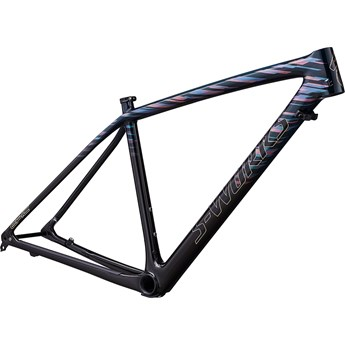 Specialized Epic HT Men S-Works Carbon LTD 29 Frame Gloss Teal Tint/Red Flake Tint/Cosmic Black 2019