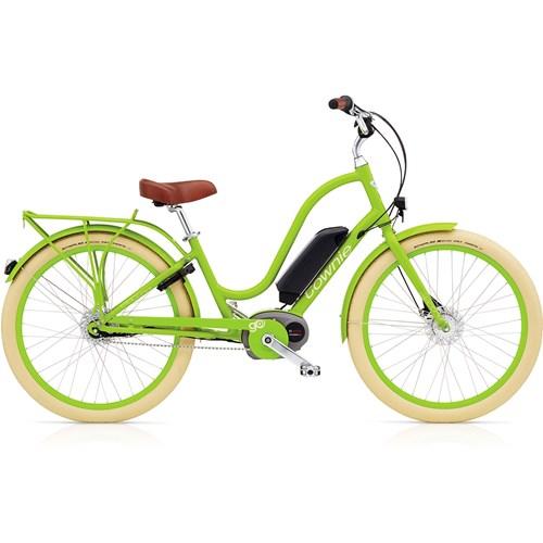 Electra Townie Go! 8i Bosch Lime Damcykel 2016