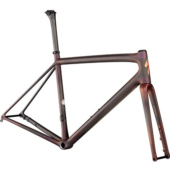 Specialized S-Works Aethos Frameset Satin Carbon/Red Gold Chameleon/Bronze Foil 2021