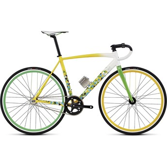 Specialized Langster Rio Gloss Dirtywht/Yellow/Green/Light Blue/Blue/Silver