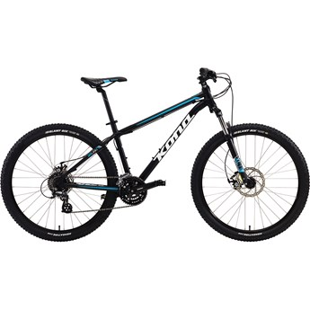 Kona Lanai Matt Black with White and Blue Decals 2016