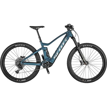 Scott Strike eRide 930 Blue 2021