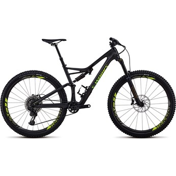 Specialized S-Works Stumpjumper FSR Carbon 29 Satin Gloss Carbon/Hyper Green 2018