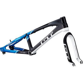 GT Speed Series Pro XXL Carbon Frame (Bara Ram) Black/Blue
