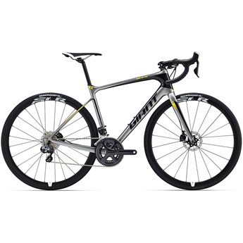 Giant Defy Advanced Pro 1 Dark Silver/Black/Yellow 2016