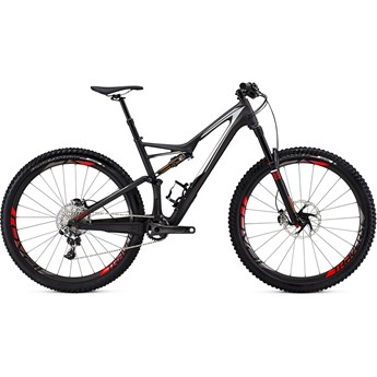 Specialized S-Works Stumpjumper FSR Carbon 29 Satin/Gloss Carbon/Dirty White/Rocket Red