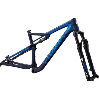 Specialized Epic Men S-Works Carbon Ltd 29 Frameset Satin Blue Tint/Mirage Blue