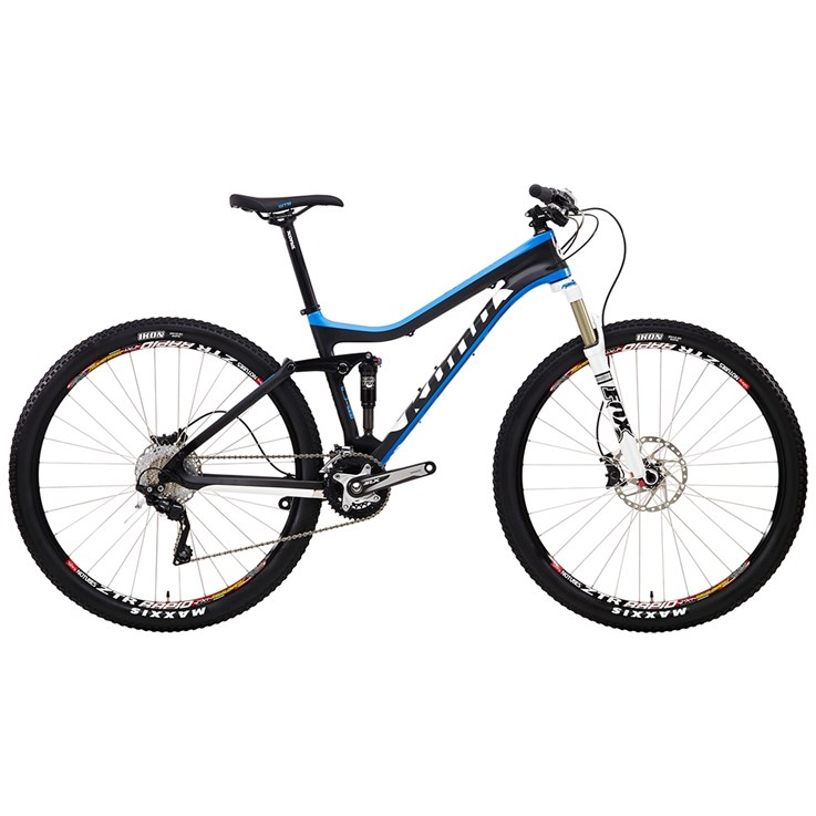 Kona Hei Hei Deluxe Matt Unidirectional Carbon with Blue, White and Black