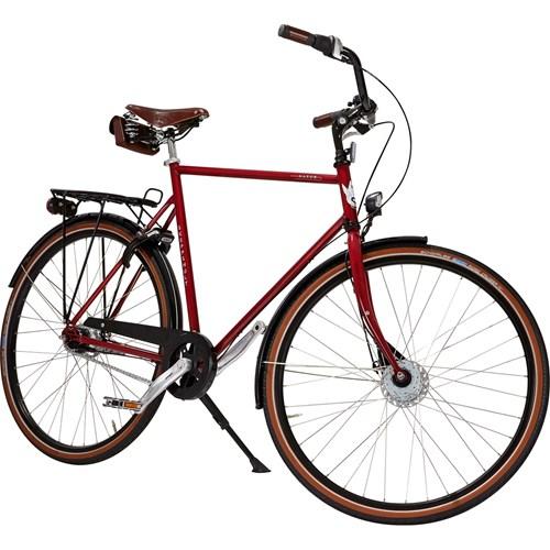 Skeppshult Natur Premium 7 Växlar Herrcykel Röd Höst 2016