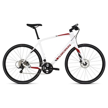 Specialized Sirrus Elite Carbon White/Red/Charcoal